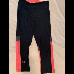 UA Capri style workout pants